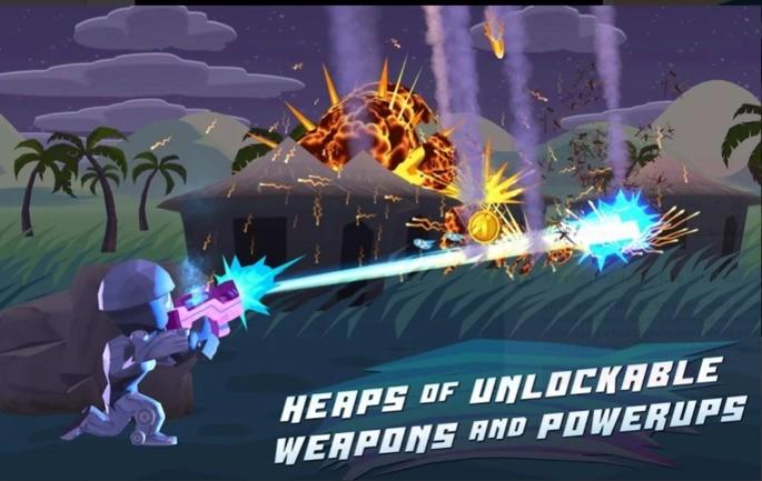 best offline android games Major Mayhem