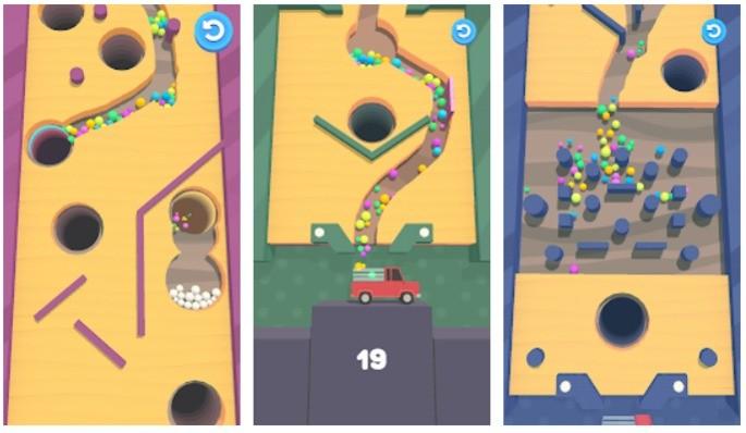 Sand Balls Best Offline Android Games