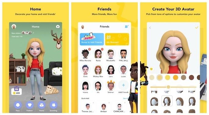 Create avatar with Boo 3D