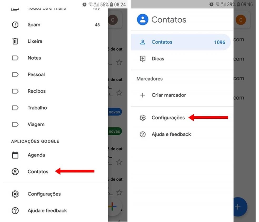 Open Google Photo Contacts Settings: Playback / Carolina Ribeiro