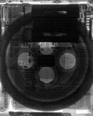 Apple Watch Series 3 Wallpaper (X-ray)