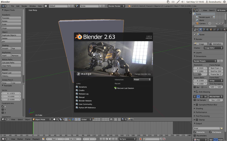 Blender 3D Modeler