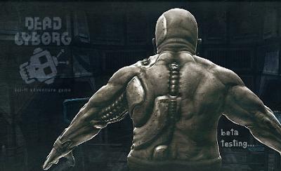 Dead Cyborg - Engine Blender Game