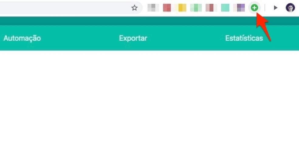 When to start WA Web extension settings WhatsApp Photo: Playback / Marvin Costa