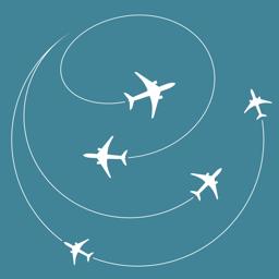 AirRoutes app icon