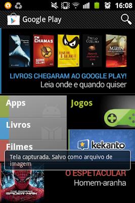 New Google Play Home Screen