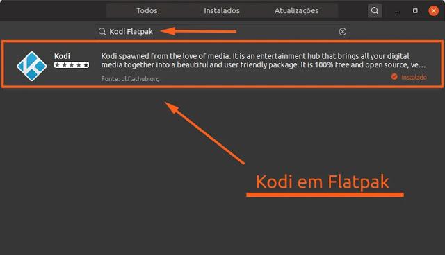 multimedia-kodi-cinema-linux-flatpak-tv-digital-movies-music-flathub-shop-ubuntu-mint