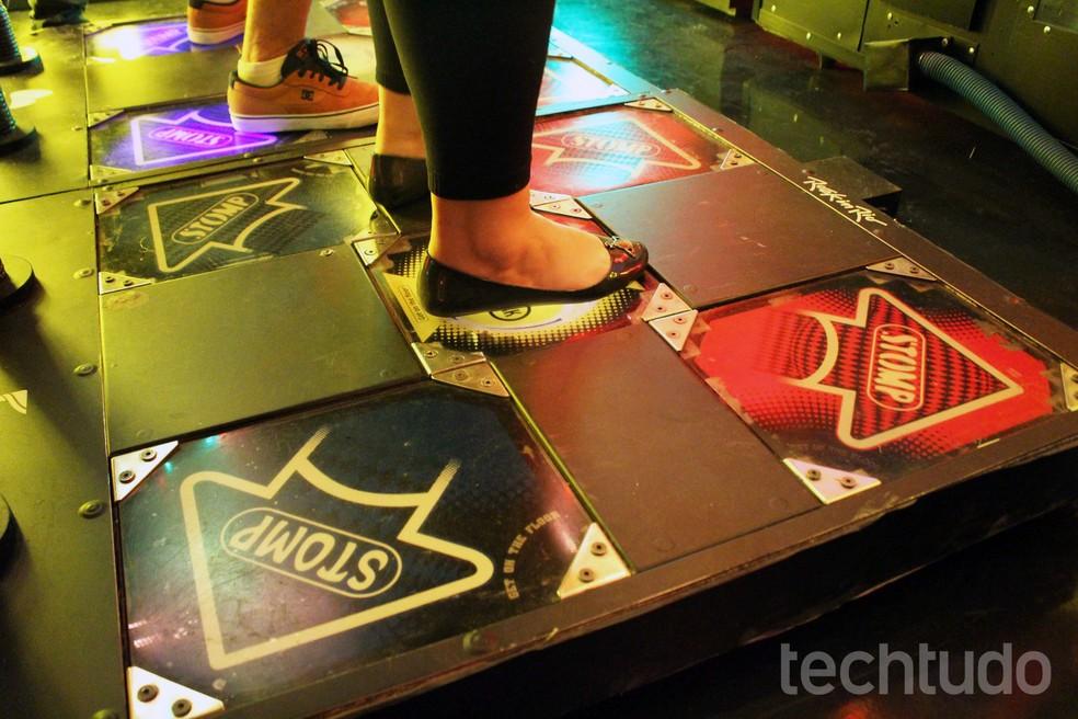 At Rock in Rio gives discounts at Extra and Po de Acar Photo: Aline Batista / TechTudo