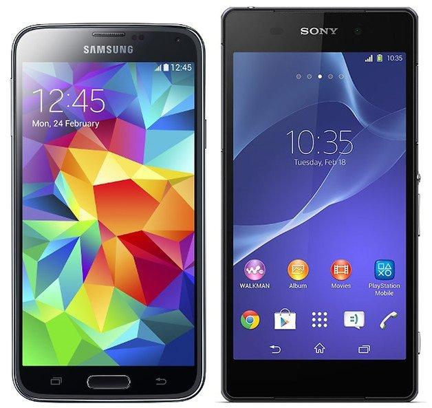 Galaxy S5 Xperia Z2 Teaser