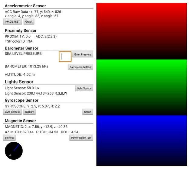 AndroidPIT S3 Service Menu 1