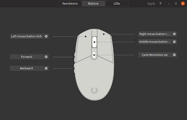 Logitech Linux Key Control