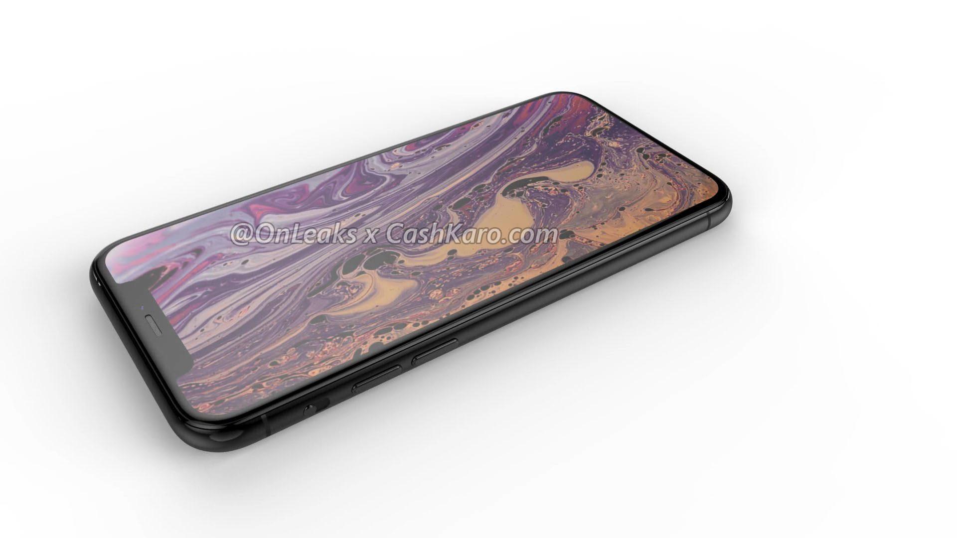 Render of supposed iPhone 2019 by OnLeaks