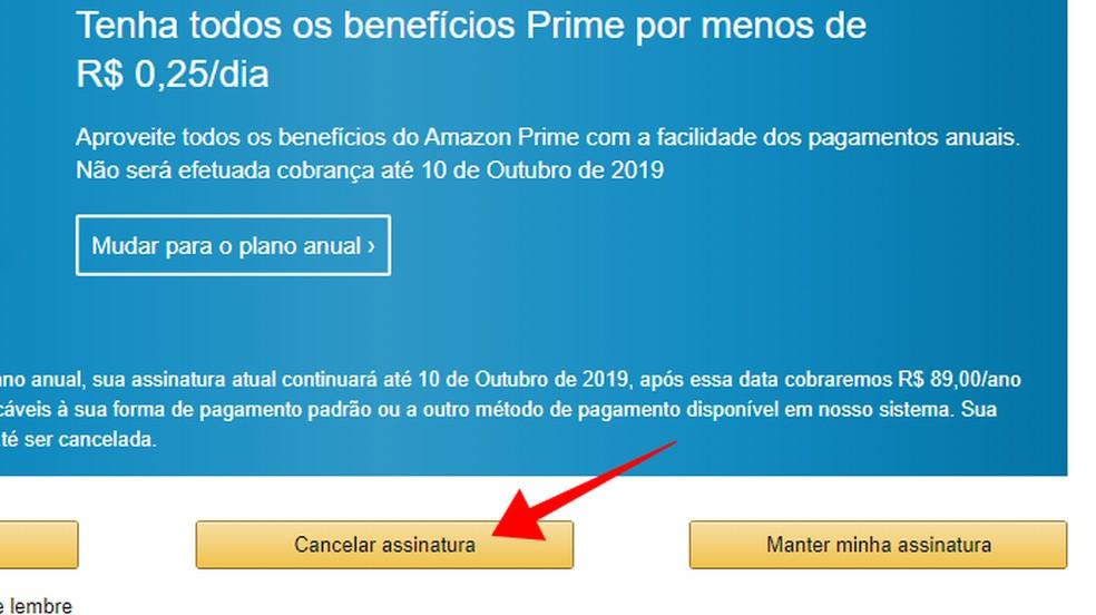 Continue the cancellation process Photo: Reproduo / Paulo Alves