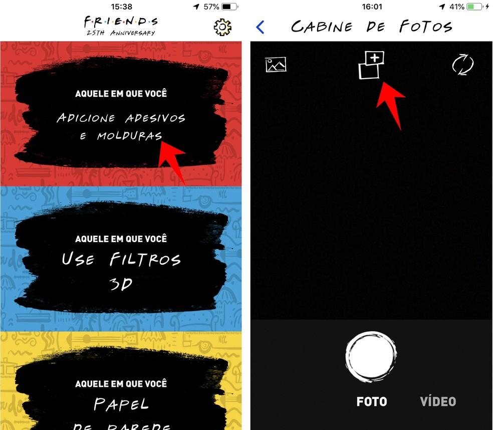 Creating a Friends Photo Frame and Sticker Photo: Reproduction / Rodrigo Fernandes
