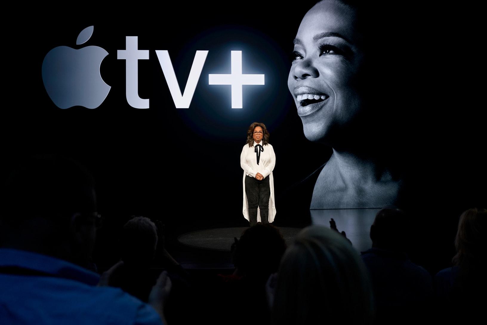 Oprah Winfrey on the Apple TV +