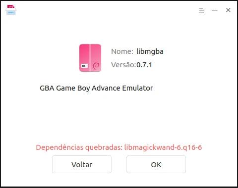 error-dependency-emulator-mgba-nintendo-gb-gbc-gba-linux-mint-ubuntu-snap-deb-flatpak