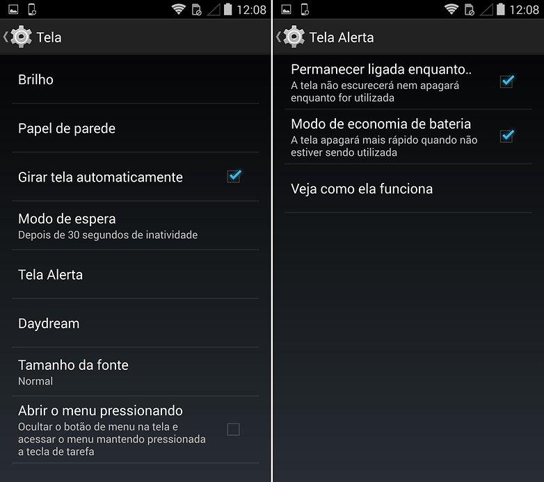 Moto Maxx Alert Screen