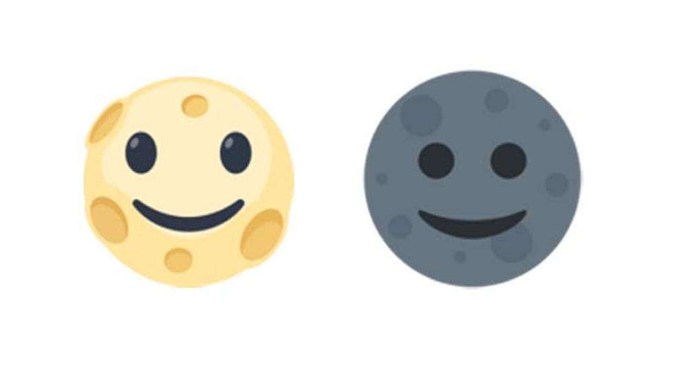 Moon emoji little understood by users Photo: Reproduction / Emojipedia