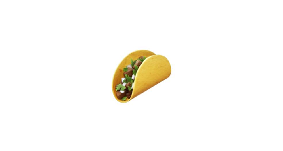 Taco Emoji Photo: Reproduction / Emojipedia