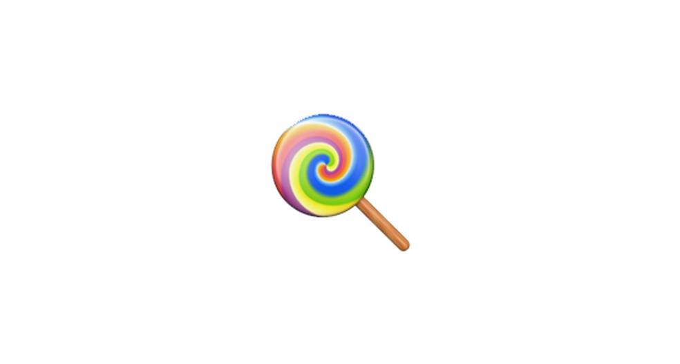 Lollipop Emoji Photo: Reproduction / Emojipedia