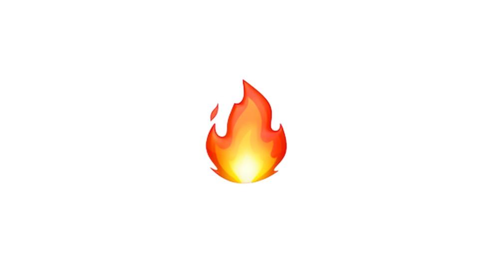 Fire Emoji Photo: Reproduction / Emojipedia