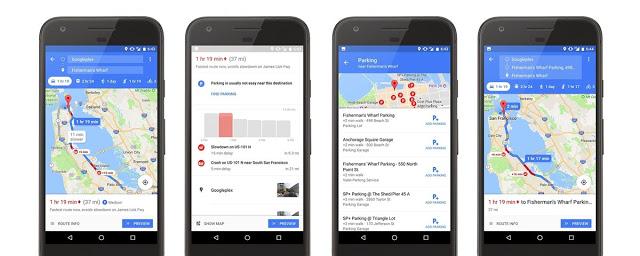 Google Maps Parking