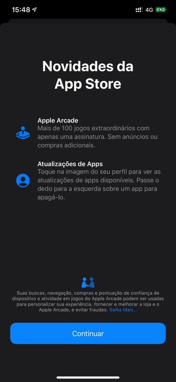 App Store news screen on iOS 13 beta 6