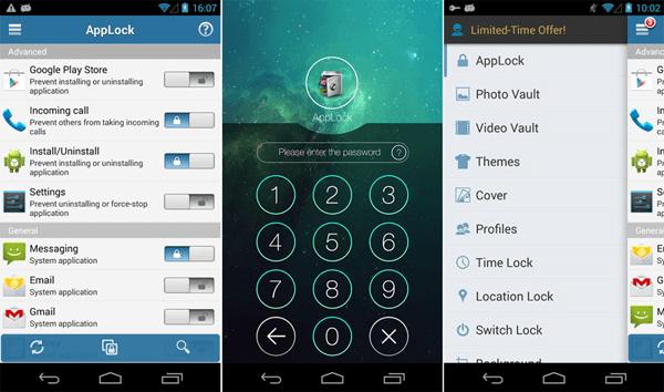 app lock password app