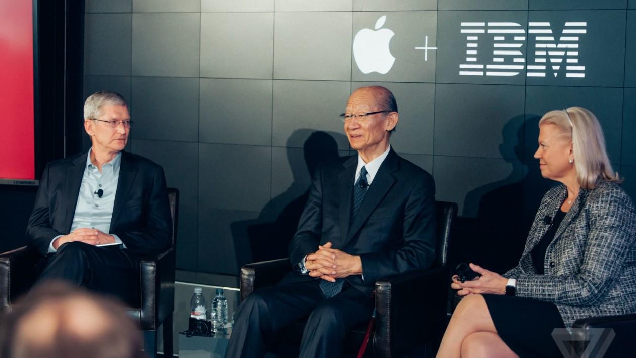 Apple + IBM