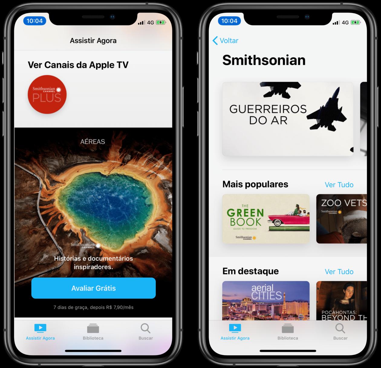 Smithsonian Plus Channel on Apple TV Channels
