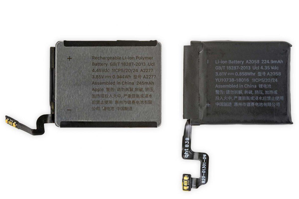 40mm Apple Watch Series 5 Aluminum Housing Battery
