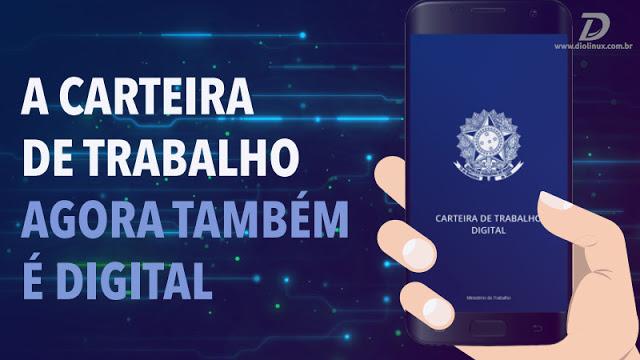 Brazilian Work Card, finally enters the 21st Century