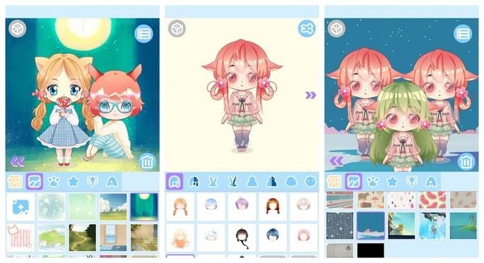 Create doll avatar with Cute Doll Maker