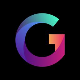 Gradient Photo Editor app icon