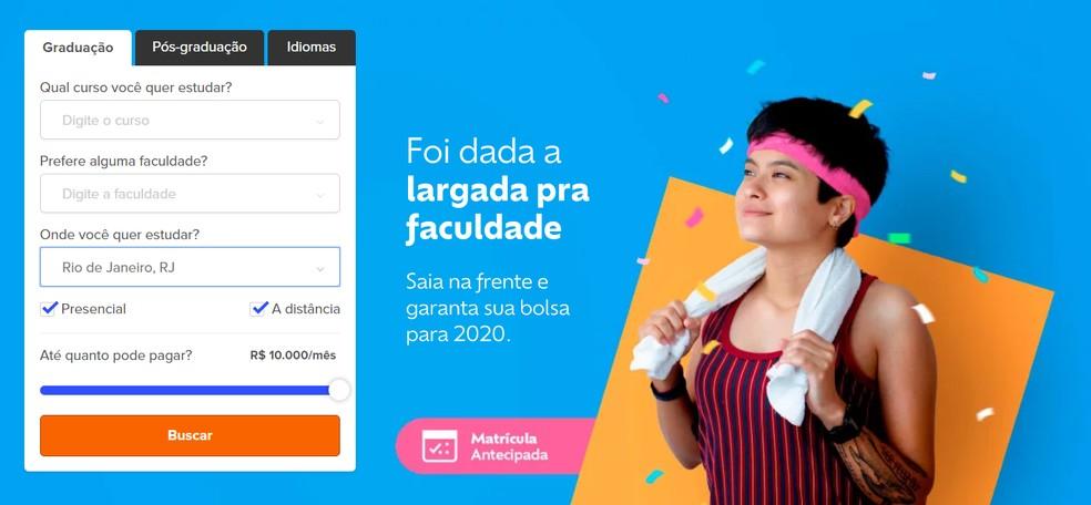How does the Bolsa Bolsa work? Website of university discounts Photo: Reproduction / I want Bolsa