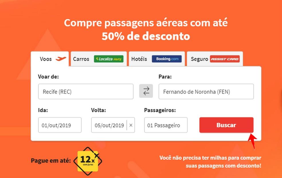 123 Miles find cheap flights to the desired stretch Photo: Reproduo / Rodrigo Fernandes