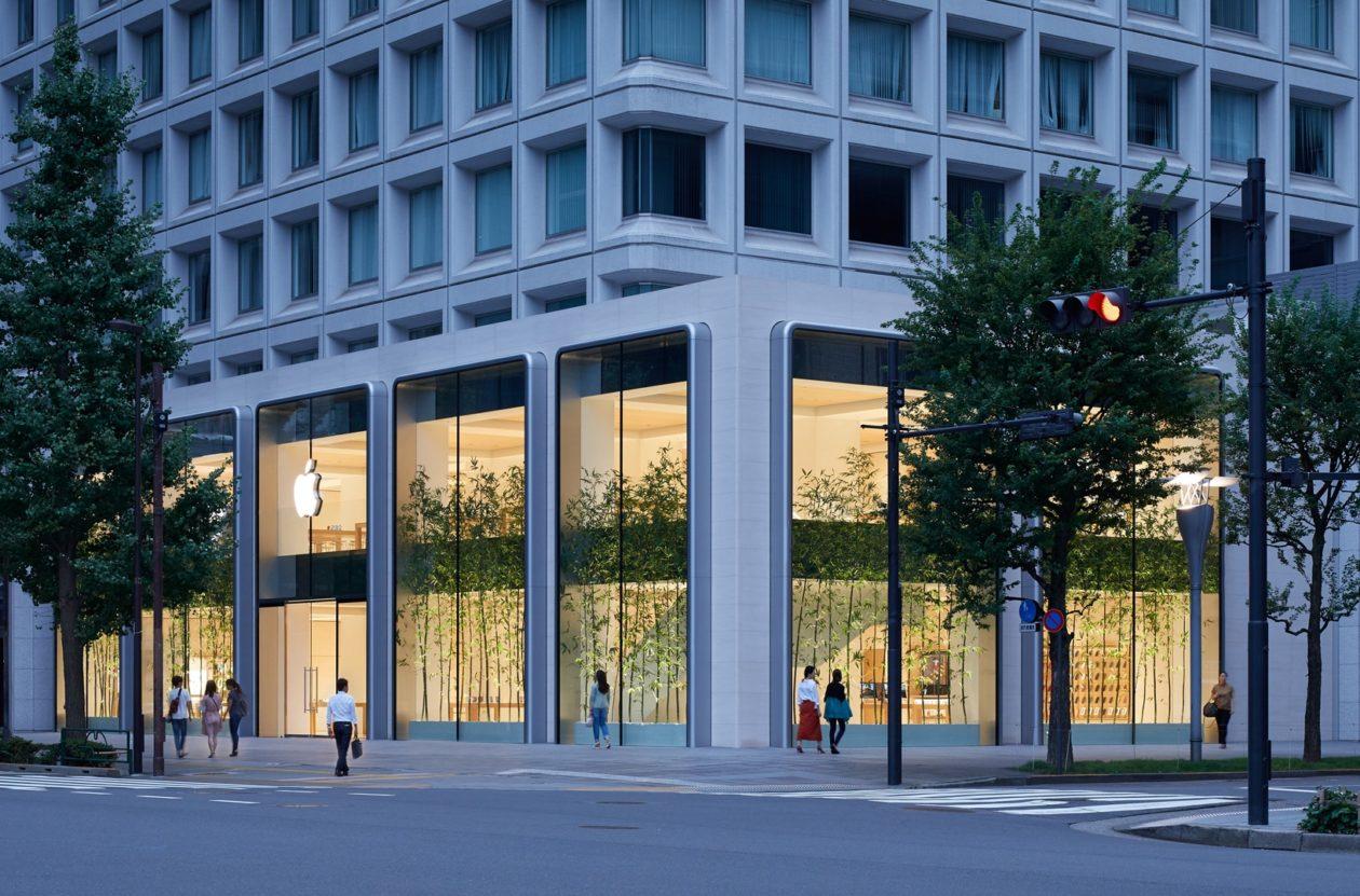 Apple Marunouchi facade