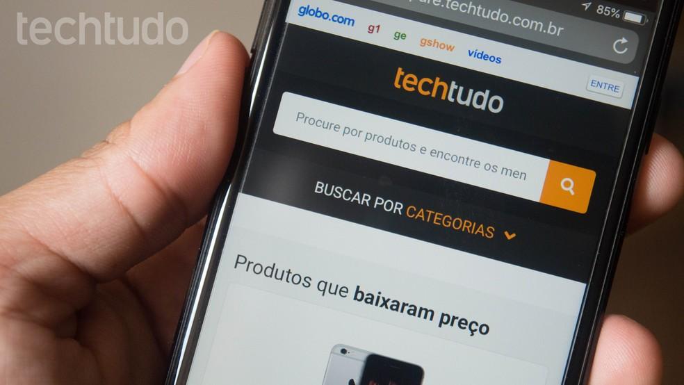 Comparators like Compare TechTudo help to check price history Photo: Marvin Costa / TechTudo