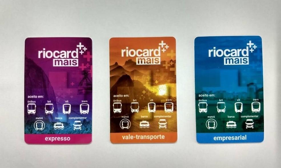 Riocard Plus are the new cards of the Carioca Single Ticket Photo: Divulgao / RioCard
