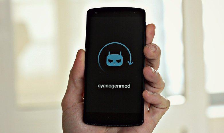 AndroidPIT Nexus5 CyanogenMod Boot