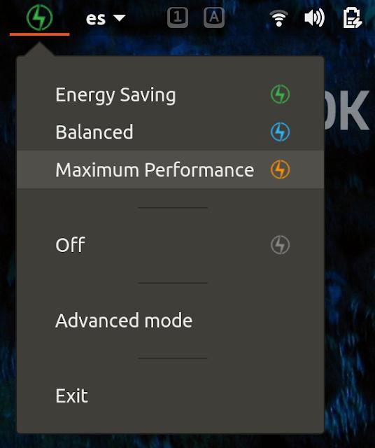 Ubuntu Battery Configuration