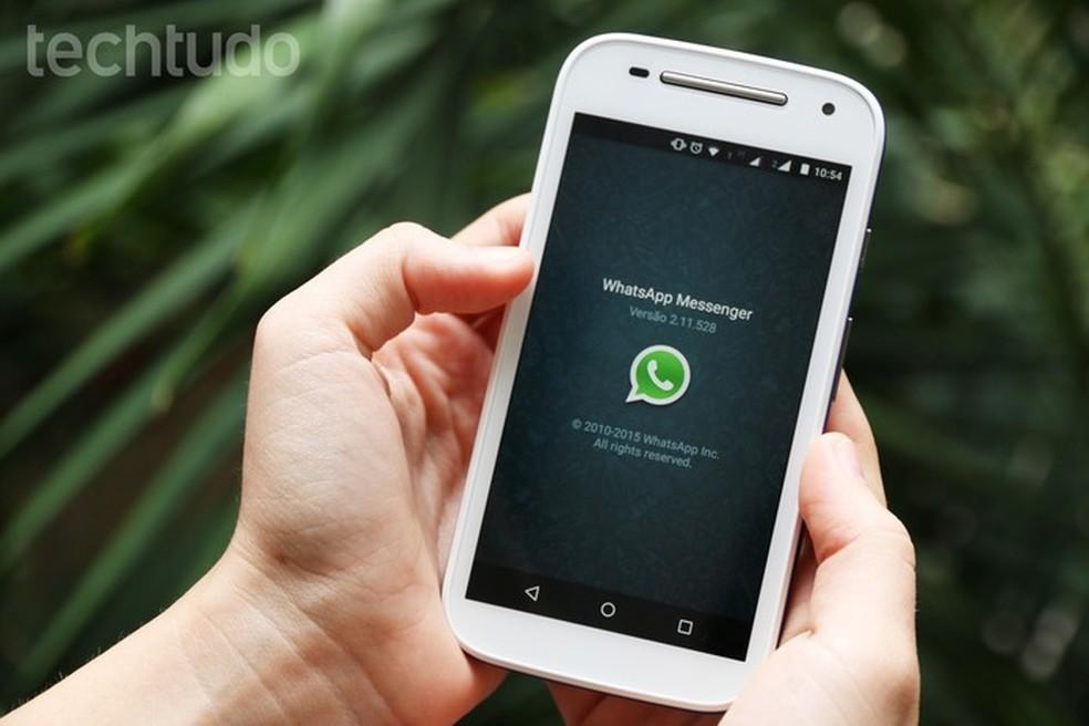 WhatsApp and Telegram: Media received by app is not so safe Photo: Anna Kellen Bull / TechTudo