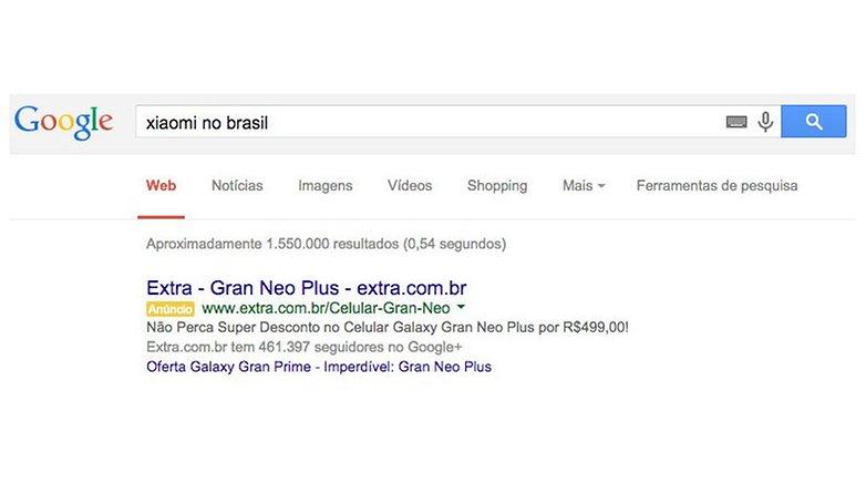 google search xiaomi