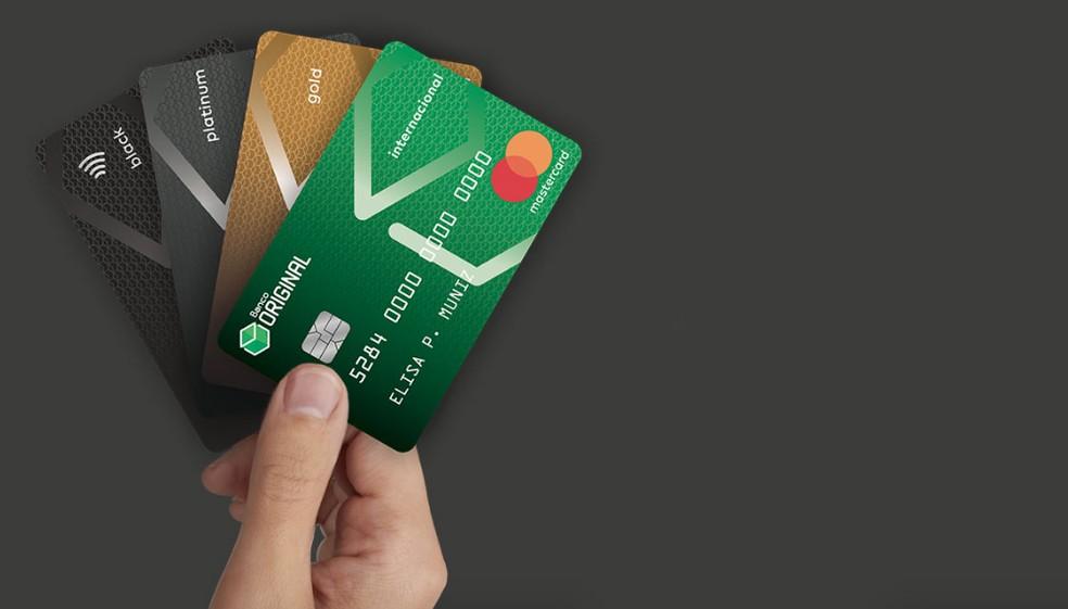 Original bank good? See how the digital card and bank works Photo: Divulgao / Banco Original