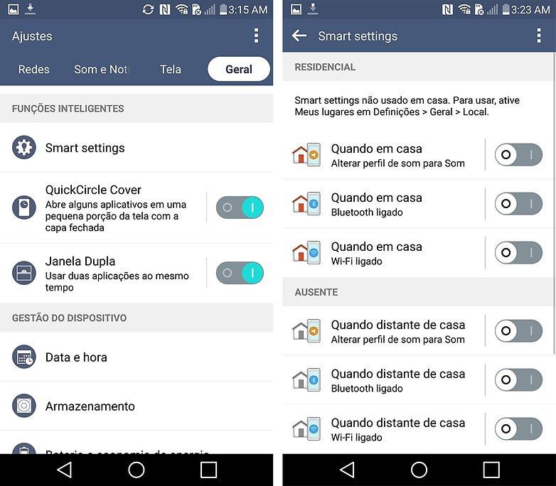 LG G4 tips tricks smart settings