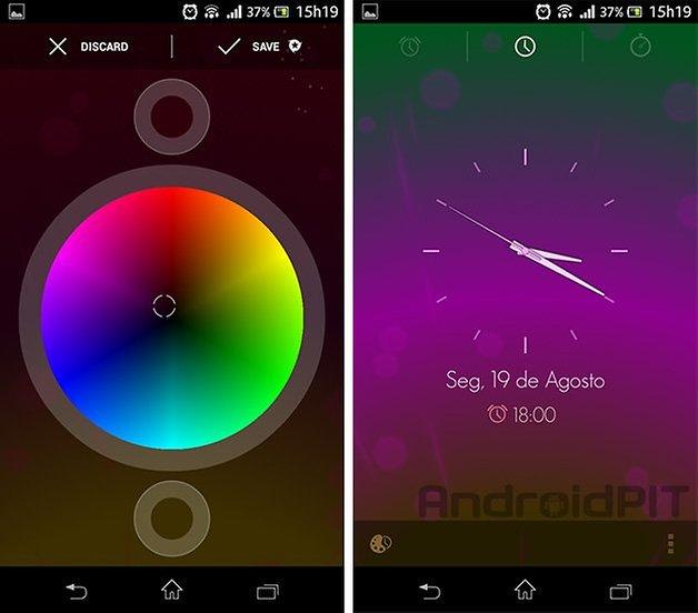 custom android alarm