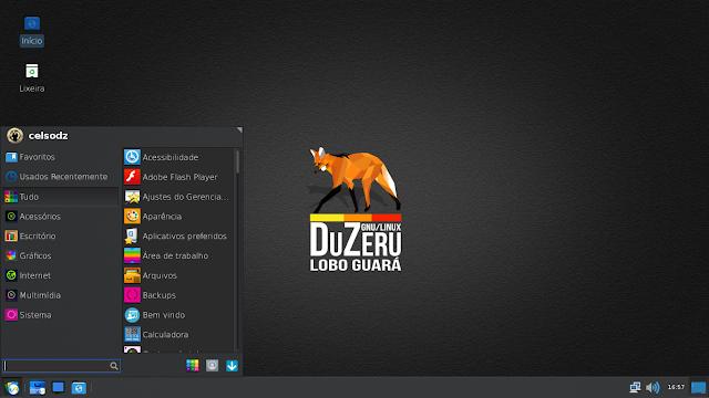 DuZeru 2.2 Whisker Menu