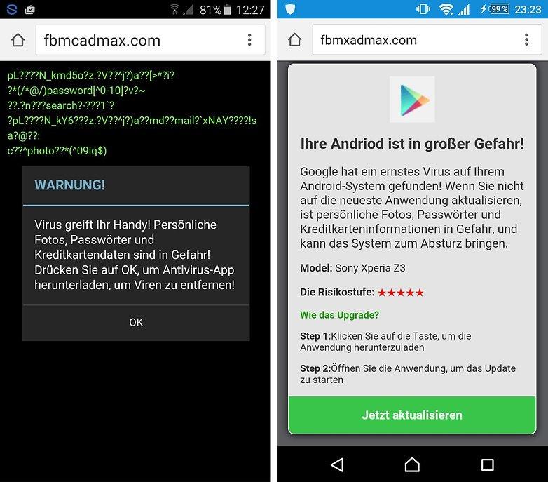 malware scareware android 2
