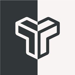 Btw app icon - maze puzzle