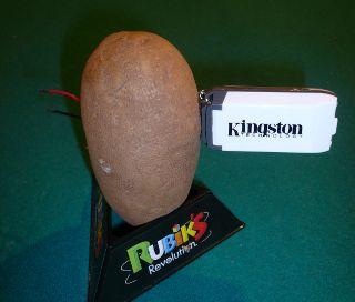 Linux running on a potato